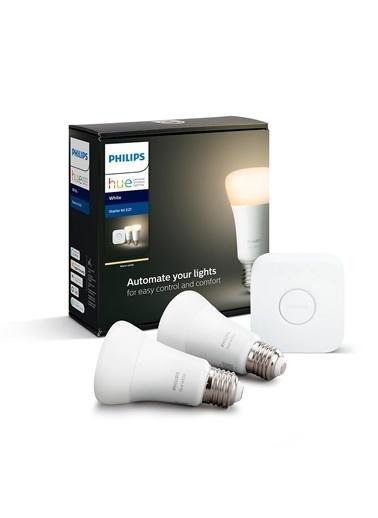 Philips Hue Beyaz Akıllı Başlangıç Seti 2li E27 Beyaz